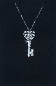 MBC:Cage key pendant, MBC:Pheonix ring, diamonds london, divorce ring, diamonds and divorce, monica bortolin-cossa