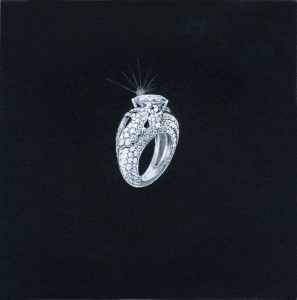MBC:Pheonix ring, diamonds london, divorce ring, diamonds and divorce, monica bortolin-cossa