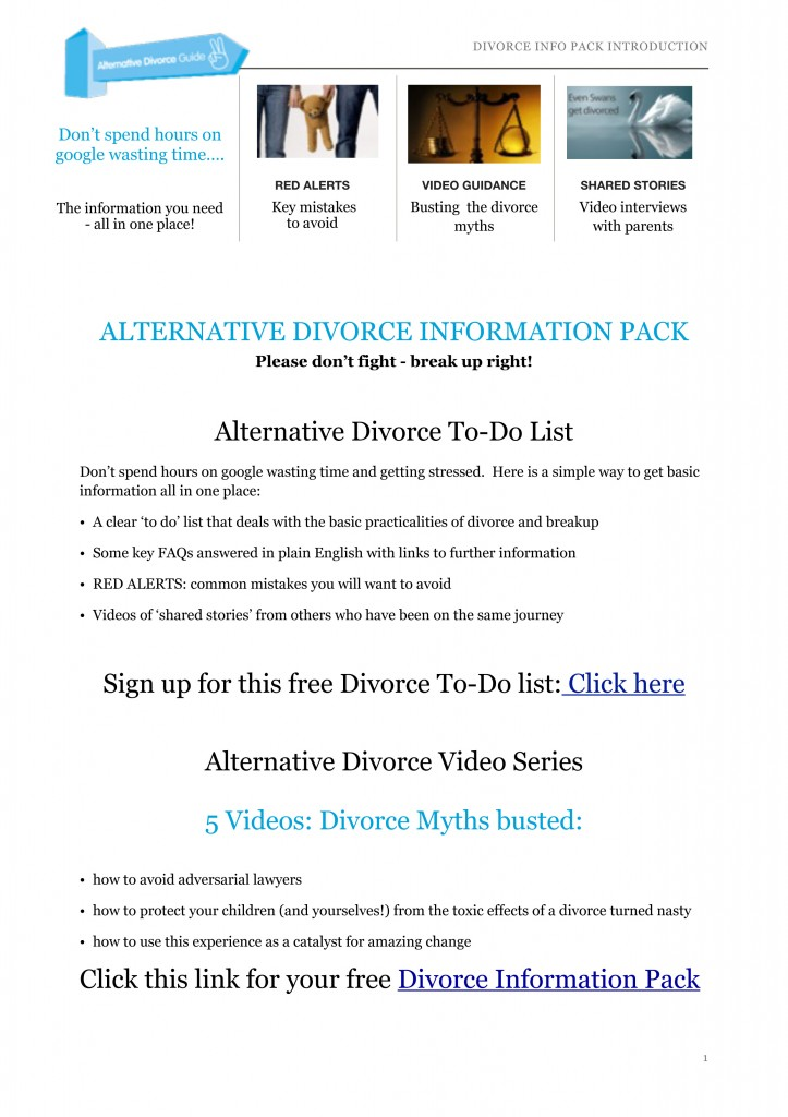 DIVORCE INFO PACK INTRO 07.03.14