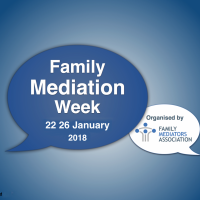 Family Mediation Week 2018